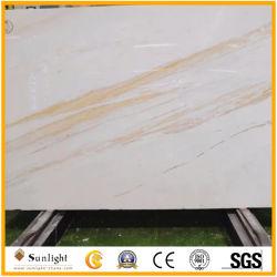 壁または床の装飾のためのAriston金大理石のAristonの白い最上質の白い大理石