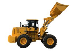 Rad-Ladevorrichtung der Qualitäts-5ton, Payloader, Vorderseite-Ladevorrichtung, Schaufel-Ladevorrichtung, Ladevorrichtung für Verkauf