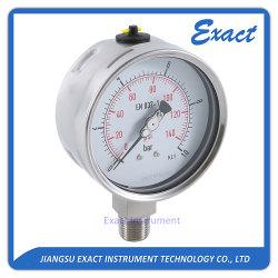 Aço inoxidável Gauge-Heavy Pressão dever Manometer-Petroleum Medidor de Pressão