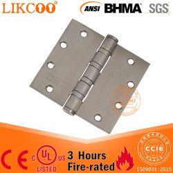 Le matériel en acier inoxydable 304 ANSI charnière de porte coupe-feu UL Door Hardware