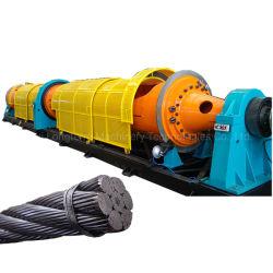 الكوابل الصناعية الأسلاك التواء يجعل آلة 630 نوع الجنوح العامية ماكينة للأسلاك الفولاذية