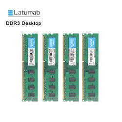 Настольный компьютер Latumab микросхема с ОЗУ 4 ГБ оперативной памяти DDR3 1600 Мгц PC3-12800 240 контакт компьютер настольный компьютер для параметров памяти DIMM