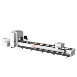 Quadratisches Rohr Rundrohrrohr CNC-Laser-Schneidemaschine Ausrüstung Mit hoher Präzision