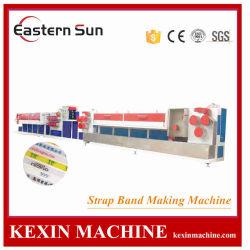 PP Haustier Kunststoff Verpackung Straping Bindung Wraping Herstellung Maschine mit Druck Prägeextruder Maschine