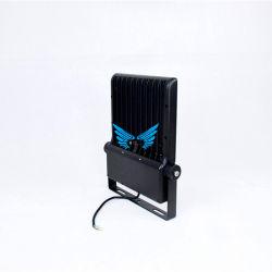 Светодиод 100W тонкий Светодиодный прожектор с регулируемой яркостью Hi Bay LED светильников для поверхностного монтажа 30W50W100W200W светодиодный индикатор с черным корпусом для Lled открытый огонь с UL TUV SAA CE