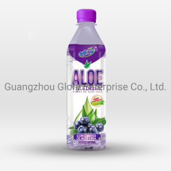500ml Aloe Vera boisson Saveur de bleuets avec 5 % de l'Aloe pâtes