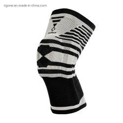 Protezioni di posizione accoccolata di funzionamento della strumentazione delle ghette di pallacanestro di sport dei rilievi di ginocchio di Rigorer