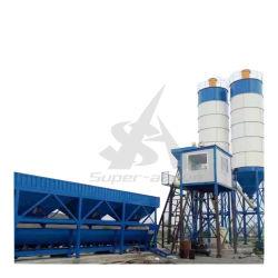 60m3/H 고정식 습식 혼합 배칭 콘크리트 공장