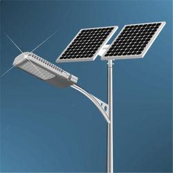 Hepu 40W, 50 W, 60 W, 80W Hot Ventes lumens élevé IP67 Système d'éclairage de rue le système de commande étanche Rue lumière LED solaire