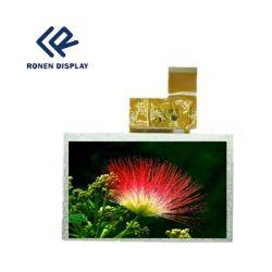 5 인치 - 높은 광도 TFT LCD 방충망 문 전화 전시 Rg050cqt-01