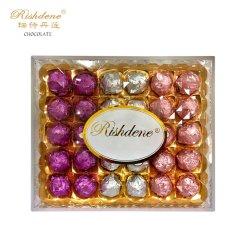 다이아몬드 정연한 30PCS 도매가 OEM 혼합 색깔 초콜렛 공