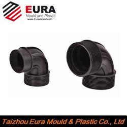 OEM Custom accesorios para tuberías de plástico molde de inyección de codo/T/válvula