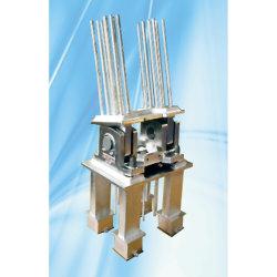 ライトレール梁精密鋳造用の連結および固定システム