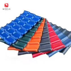 Schindeln auf Verkauf UPVC imprägniern Isolierung Belüftung-Panel-Dach-gewölbtes Dach-Plastikblatt für verschütteten Hersteller