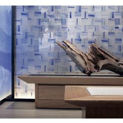 150*150 kleine Chinese het Schilderen van de Tegel van de Kleur van de Tegel van de Muur van de Grootte Ceramische Blauwe Glanzende Stijl