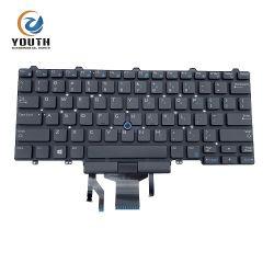 Laptop-/Notizbuch-Tastaturen für DELL E5450 E7450 Backlight uns