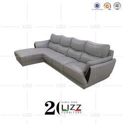 أثاث المكتب القابل للتعديل، أريكة جلدية يمكن تحويلها إلى ركن