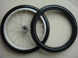 Китай пневматического велосипед резиновые плоские свободного PU пены колеса тележки