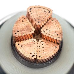 127/220kv condutores de cobre Isolados em XLPE Alumínio corrugado PVC Bainha de bainha do cabo de alimentação