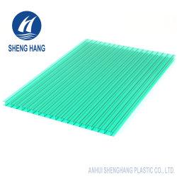 Protégé contre les UV sur la carte PC creux en polycarbonate Twin-Wall