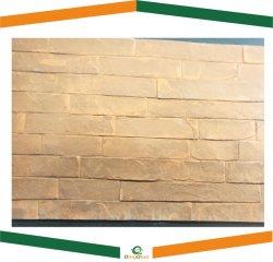 De piedra Faux delgada que cubre la losa de piedra natural con efecto