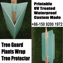 Arborescence Corflute gardes, PP protecteurs de l'arbre, arbre en plastique ondulé Guards