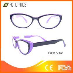 PC d'injection de lunettes de lecture de l'affaire