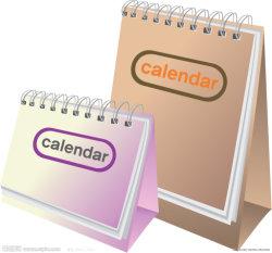 2020 de nieuwe OEM van het Ontwerp Kalenders van de Desktop