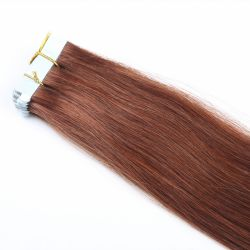 Bande de PU H Cheveux humains de la trame de la peau