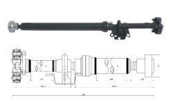 Vw Touareg/Audi Q7 Propshaft Drive Shaft 7L6521102