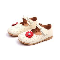 0-4세 유아용 걸즈 신발, 토들러 키즈 펄 플라워 소프트 프린세스 패션, 캐주얼 신발 에스게13779