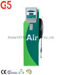 Inflador de neumáticos de monedas de la estación de Gas compresor de aire del neumático de coche de la máquina de llenado de la estación de gas de las bombas de gasolina