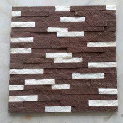 Empilés Argent gris ardoise Décoratif mural de la Culture (SMC-SCP345)