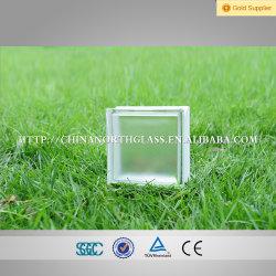 Estructura sólida y tipo de bloque de vidrio templado de vidrio