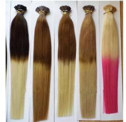 L'approvisionnement Stick Tip hair extension Keratin Hair Extension Cheveux naturels