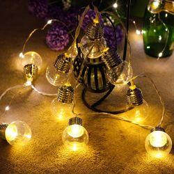 Mini-Glühlampe LED Dekoration Lichtkette