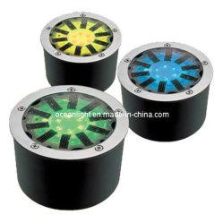 مصابيح LED الشمسية القابلة لإعادة الشحن داخل الأرض