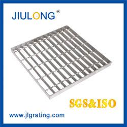 Pianura di rivestimento galvanizzata rivestimento industriale del laminatoio o barra d'acciaio seghettata che gratta con l'approvazione del Ce