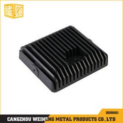 Méthode de moulage sous pression du carter de télécommunications de l'aluminium enduit de poudre noire