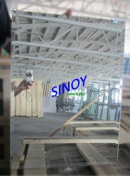 مرآة فضية مشطوفة مستطيلة مستطيلة الشكل مستخدمة على نطاق واسع بمقاس مخصص (SMI-RTM001)