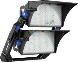 Cina alta qualità alta potenza per esterni IP66 500 W 1000 W. Stadio da 1500 W, 2000 W, campo da calcio, campo sportivo, palo alto Proiettore a LED da 300.000 lm
