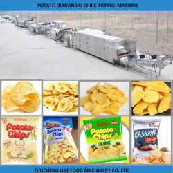 Venda a quente Chips de Batata Frita fazendo a máquina/batatas fritas congeladas máquina de fritura
