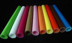 أنابيب كشط PVC دائرية وملونة مخصصة