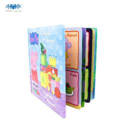 Libro di Hardcover di alta qualità su ordinazione di stampa di colore per formazione dei bambini
