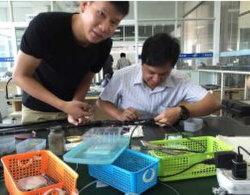 Endoscopio flexible de la reparación servicio de capacitación para amigos extranjeros