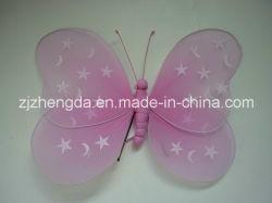 Butterfly decoração pendurar Paited Estrelas e Luas