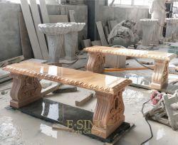 مقاعد حجرية وطاولات جرانيت جاردن ستون ومقاعد مباشرة من المصنع