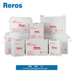 Fuente de alimentación de batería de plomo ácido VRLA 7-250ah almacenamiento UPS