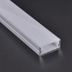 Het LEIDENE Lineaire Trede Geanodiseerde Aluminium van het Profiel met Verschillende Vorm