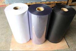 غشاء من مادة التربولين المرنة الشفافة الصلبة الشفافة PVC بحجم 0.08 إلى 3 مم